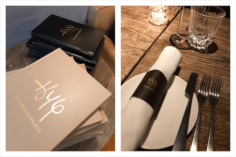 Hyg restaurant at the S Hotel in Taipei, Taiwan