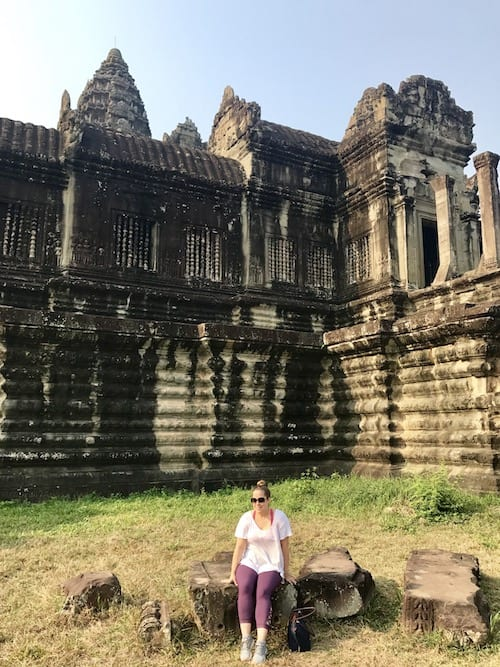 What to wear in Angkor Wat : sporty look