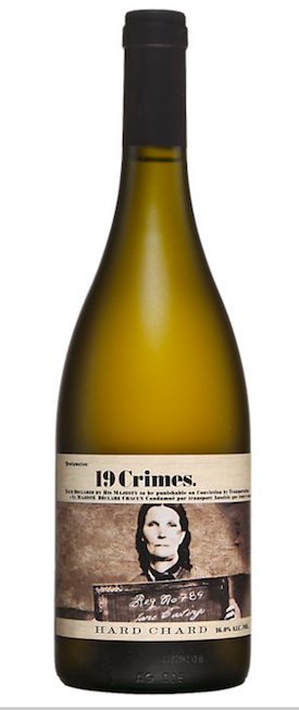 19 crimes hard chard chardonnay Australie