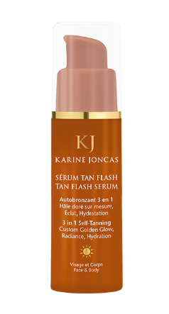 Sérum tan flash de Karine Joncas