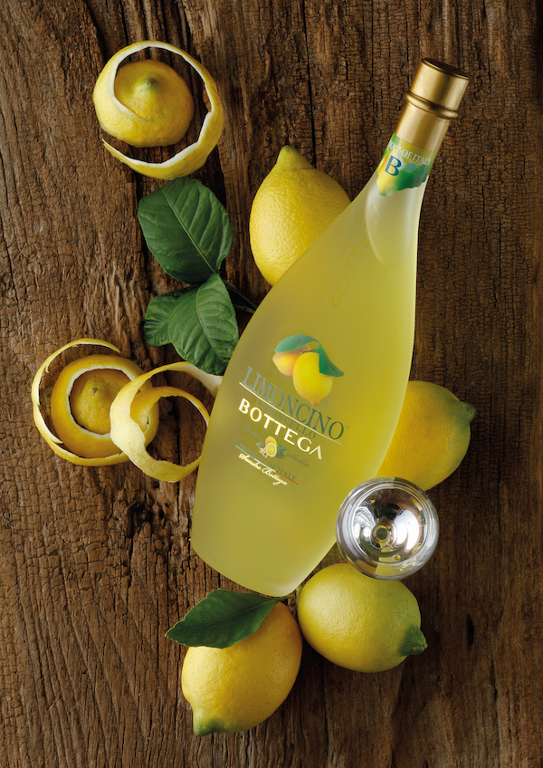 Limoncino de Bottega, une version unique du Limoncello