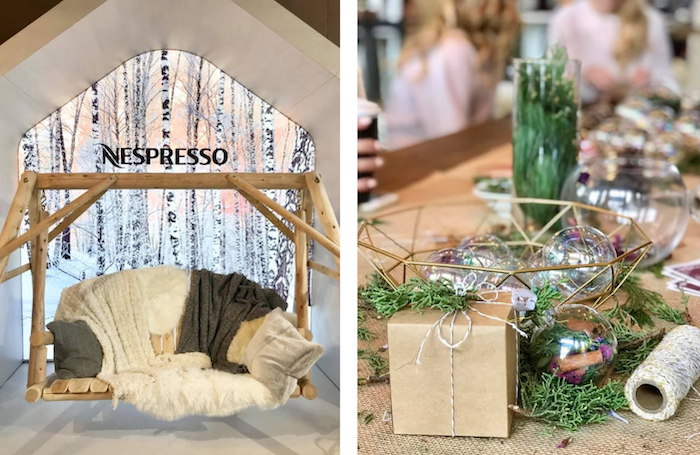 Boutique Pop-up de Nespresso au Toronto Christmas Market