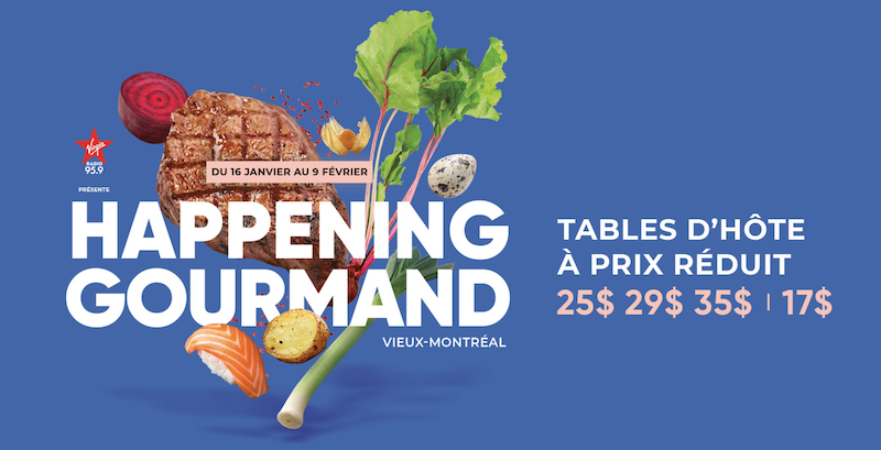 Happening Gourmand 2020