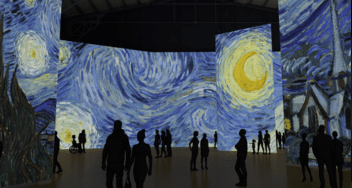 Exposition Imagine Van Gogh à l'Arsenal de Montréal