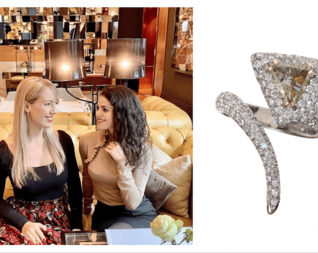 Shine bright : Interview with private jeweller and diamond expert Michal Amram