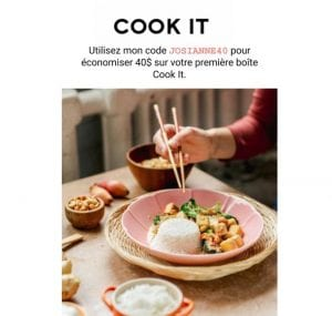 Cook It code promo