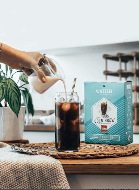 Café cold brew William Spartivento