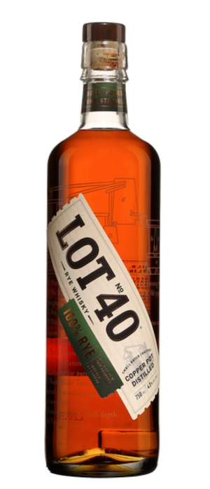 Lot 40 Whisky Canadien